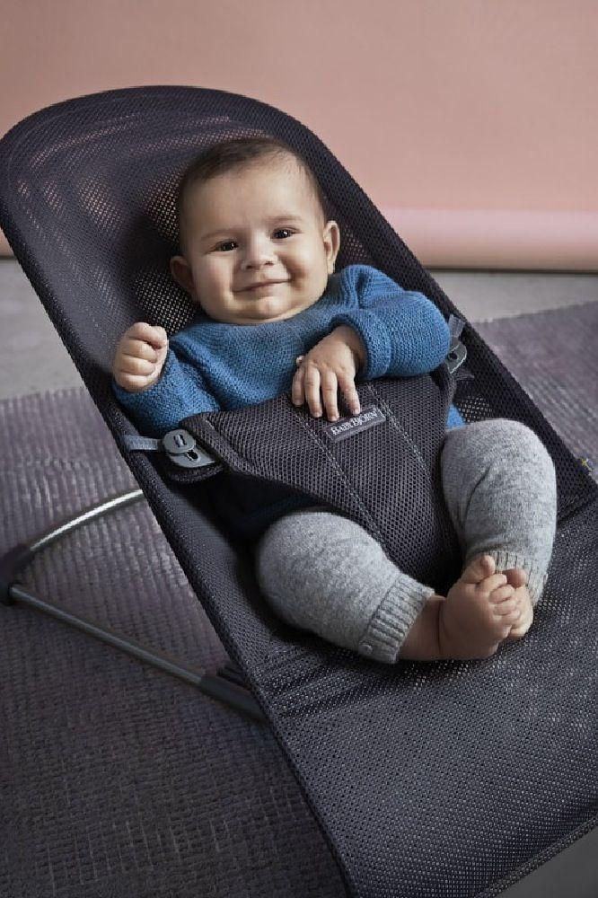 BabyBjorn Bouncer Bliss Mesh Anthracite image 3