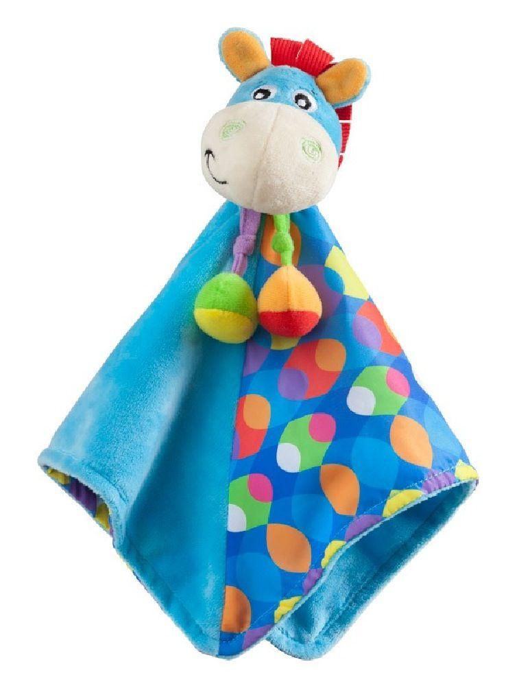 Playgro Clip Clop Comforter Blue