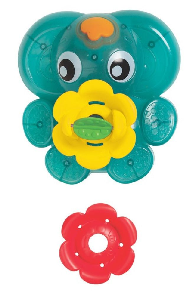Playgro Light Up Squirty Bath Fountain image 0
