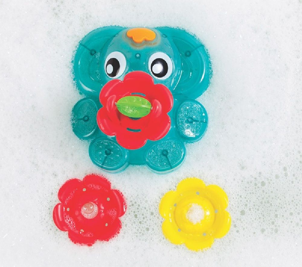 Playgro Light Up Squirty Bath Fountain image 1