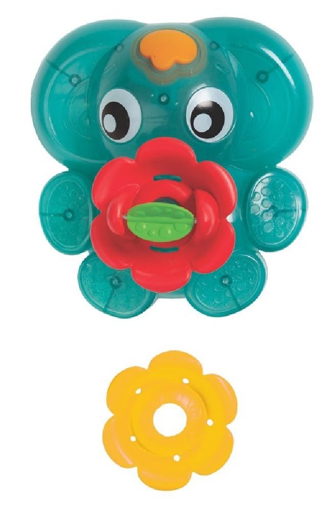 Playgro Light Up Squirty Bath Fountain image 2