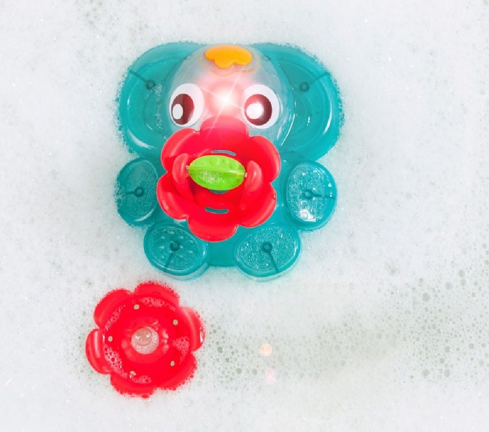 Playgro Light Up Squirty Bath Fountain image 5