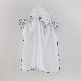 Bubba Blue Miss Fox Novelty Bath Towel