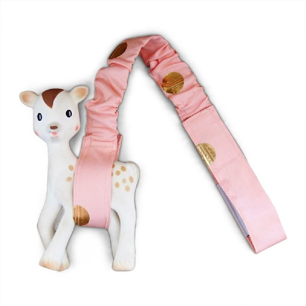 Outlook Get Foiled Toy Strap Peach With Gold Spots image 0
