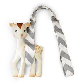Outlook Toy Strap Grey Chevron