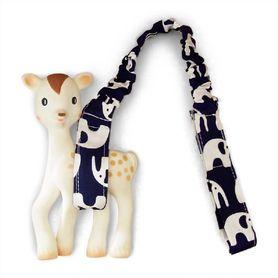 Outlook Toy Strap Navy Elephant
