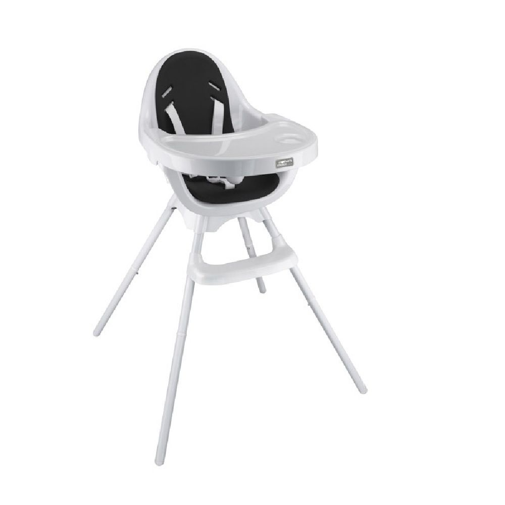 Mothers Choice Egg 3-in-1 High Chair White/Black