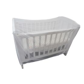 Sweet Dreams Cot Insect Net White