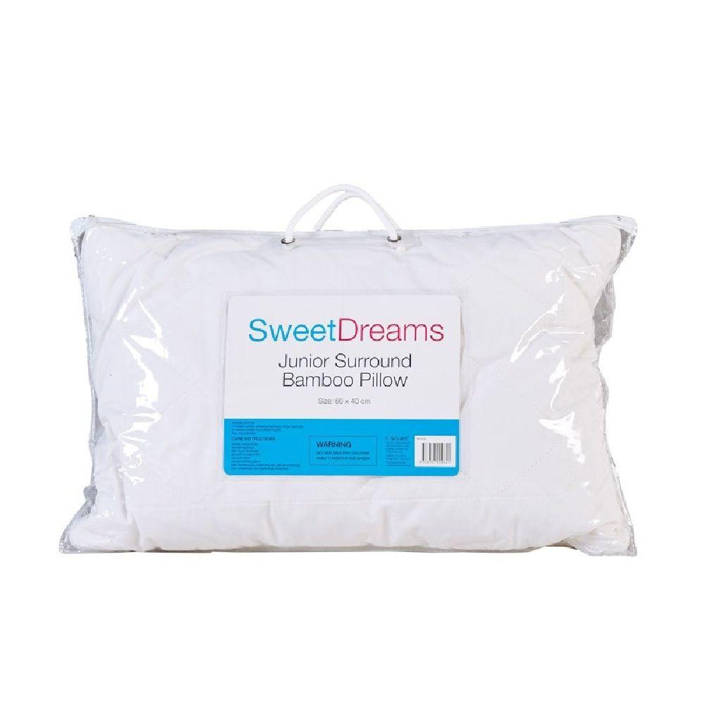 Sweet Dreams Junior Surround Bamboo Pillow White image 3