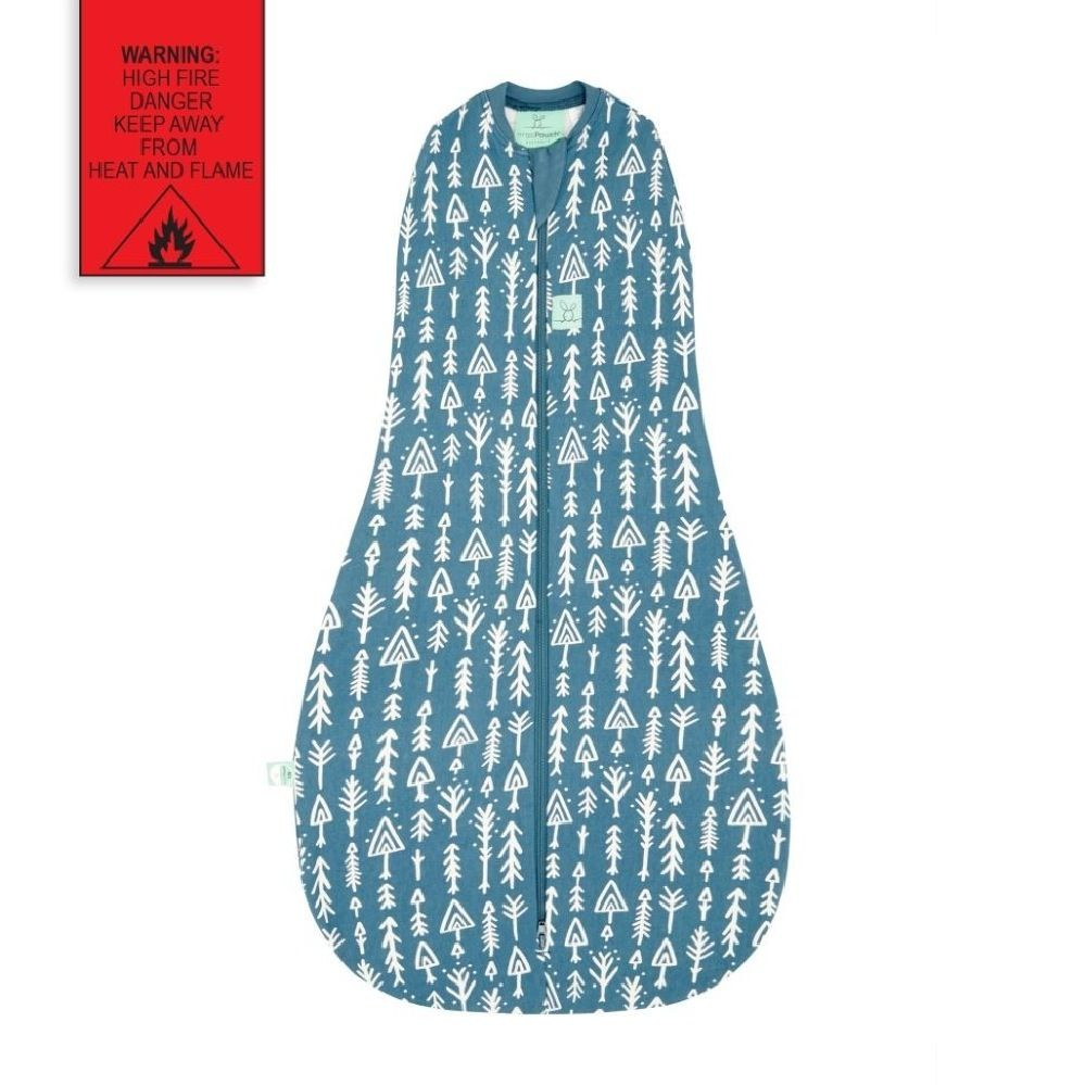 Ergopouch Cocoon Swaddle Bag 0.2 Tog Midnight Arrows 3-12 Months image 2