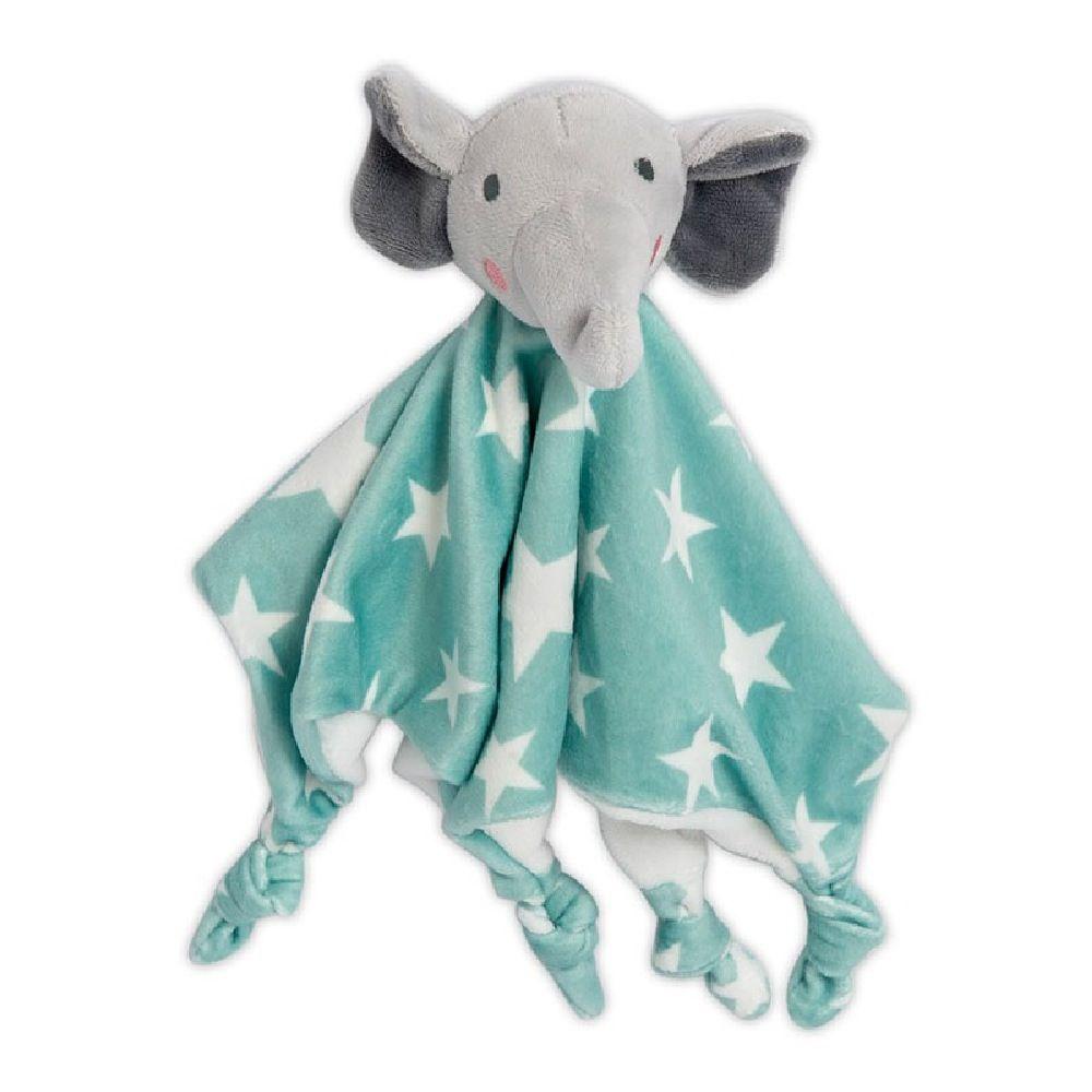 The Little Linen Company Lovie Comforter Elephant Star
