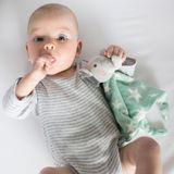 The Little Linen Company Lovie Comforter Elephant Star image 1