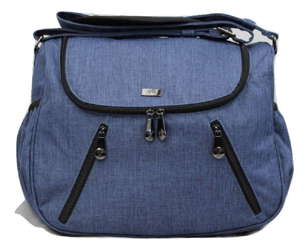 Great Expectations Nappy Bag Zoe Blue