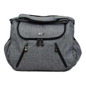 Great Expectations Nappy Bag Zoe Grey