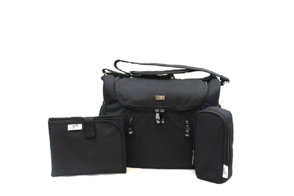 Great Expectations Nappy Bag Zoe Charcoal