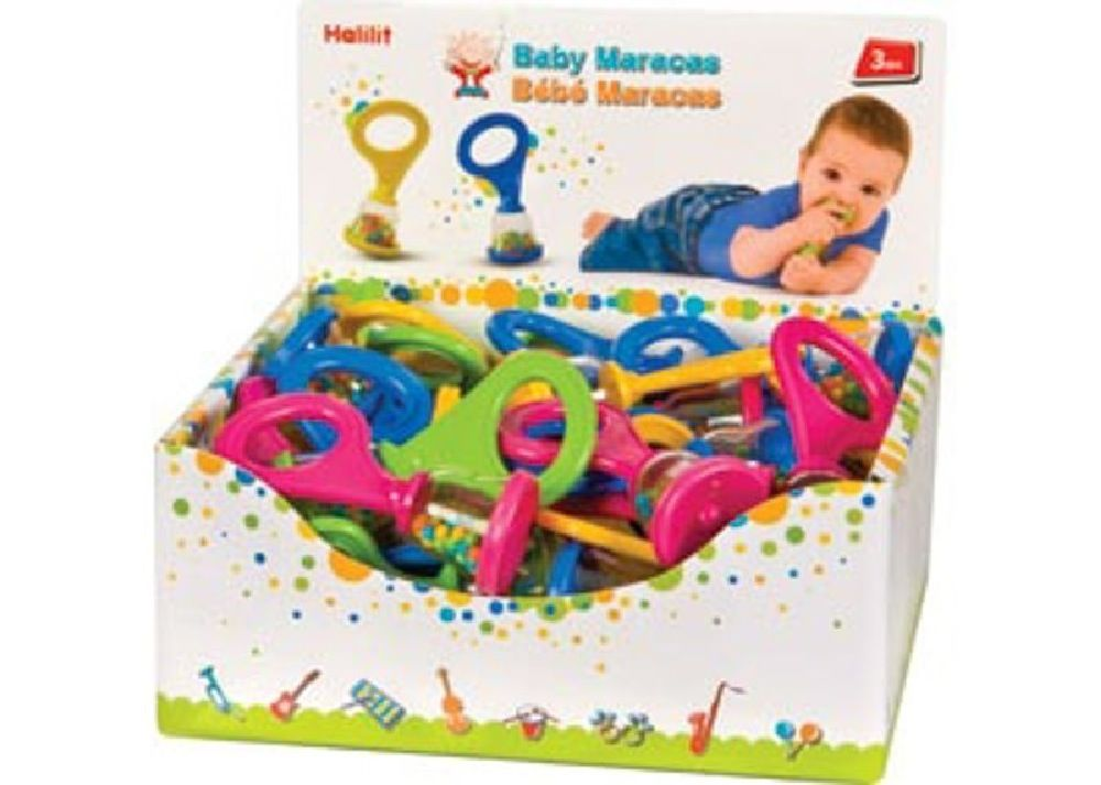 Halilit Baby Maracas Assortment image 0