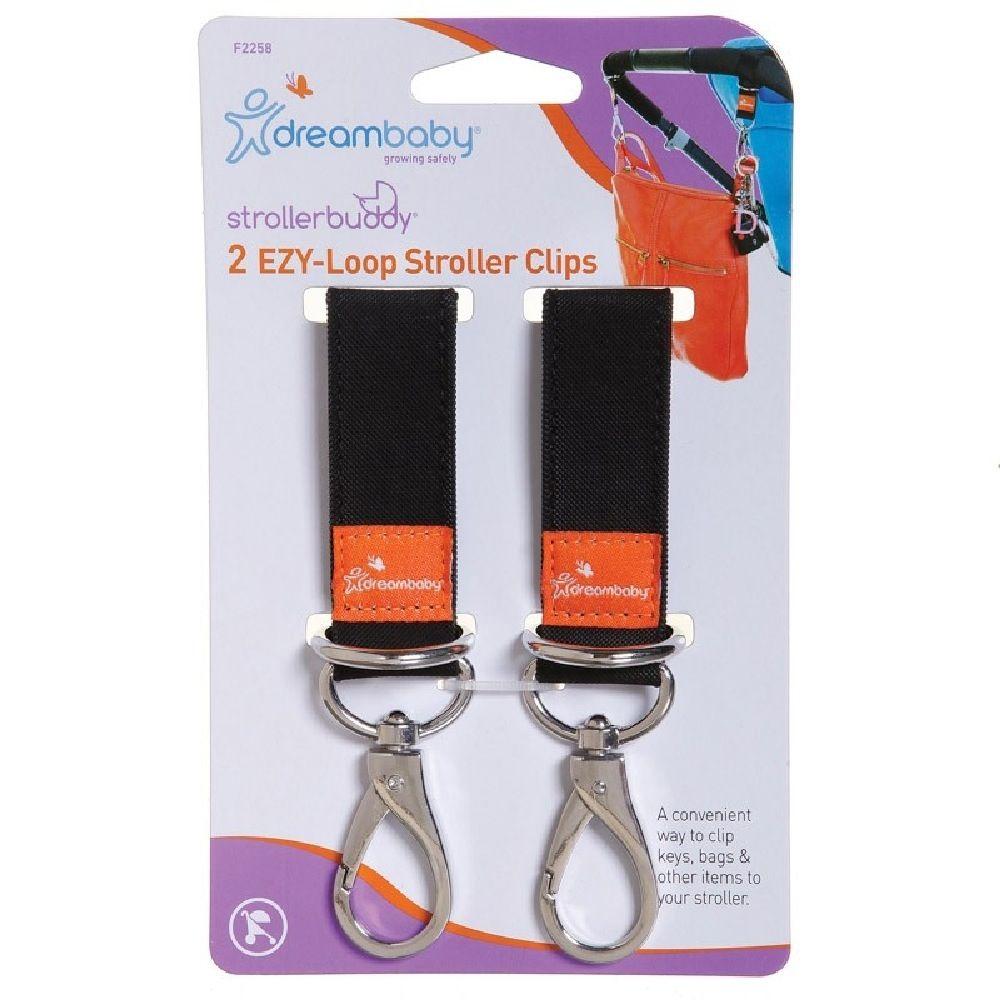 DreamBaby Strollerbuddy Ezy-Loop Stroller Hooks 2 Pack image 0