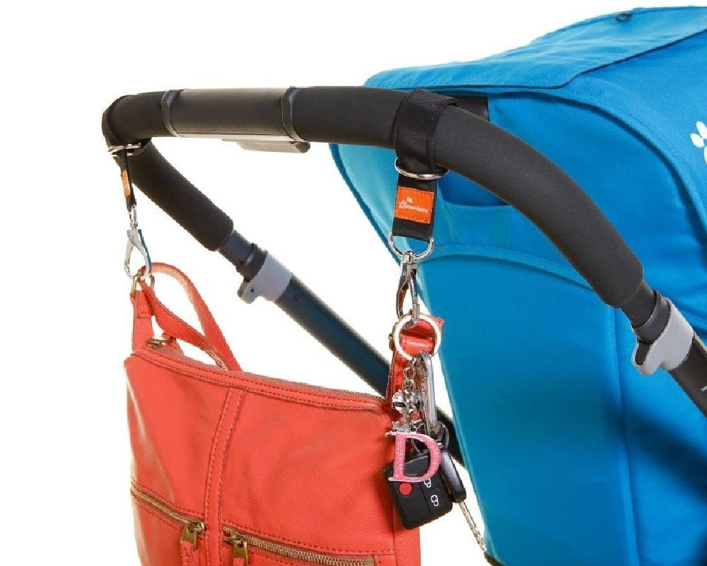 DreamBaby Strollerbuddy Ezy-Loop Stroller Hooks 2 Pack image 1