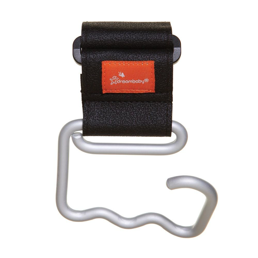 DreamBaby Strollerbuddy Ezy-Fit Giant Stroller Hook Black image 1