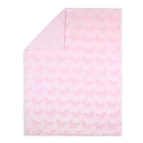 4Baby Burnout Blanket Unicorn Pink
