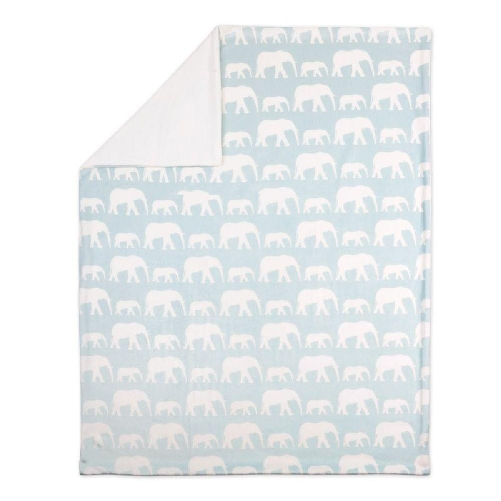 4Baby Velour Blanket Elephant image 0