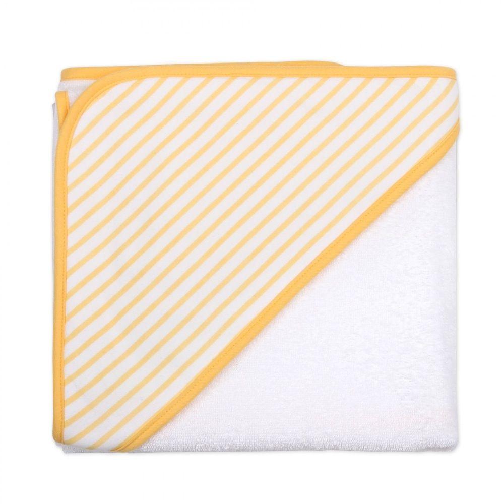 4Baby Hooded Towel & Wash Mitt Yellow Duck image 2