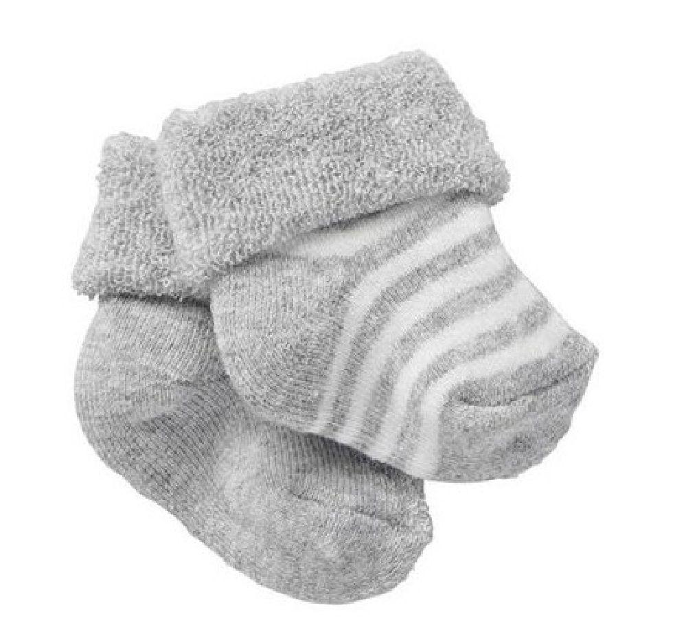 Bonds Sock Wondersock Grey Marle 2 Pack image 0