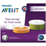 Avent Storage Pots 4 in 1 2 Pack image 2