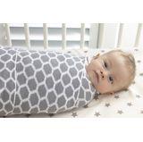 Playgro Knitted Blanket Honeycomb Grey/White image 2