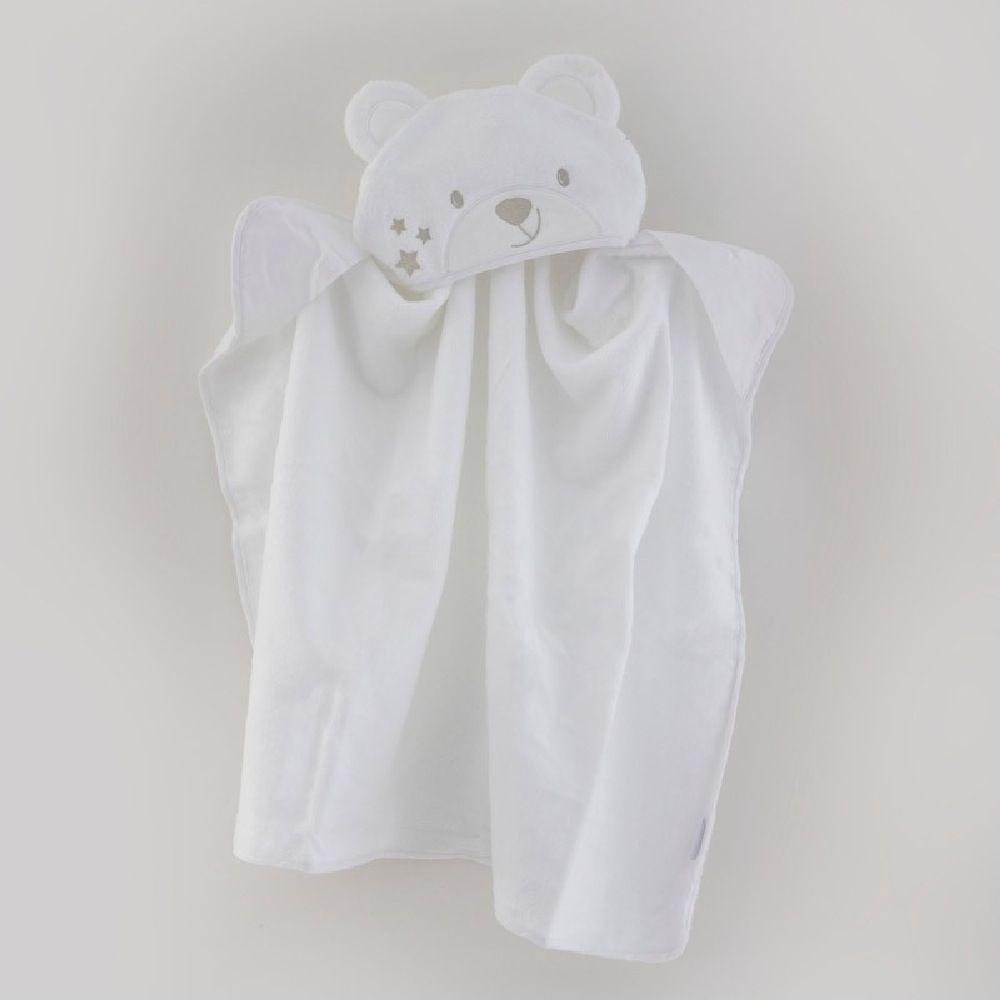 Bubba Blue Wish Upon A Star Novelty Bath Towel White