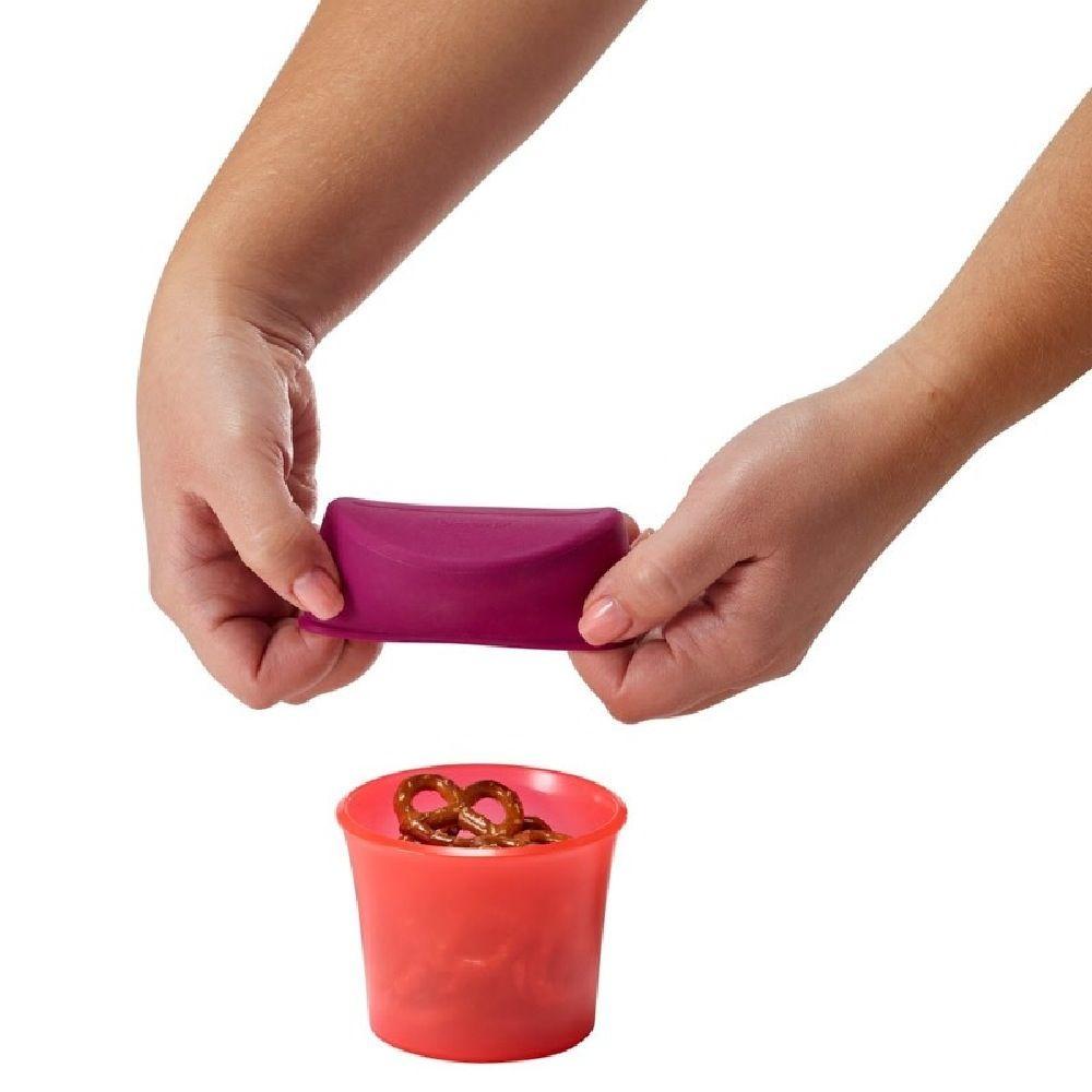 Boon Snug Snack Pink image 1
