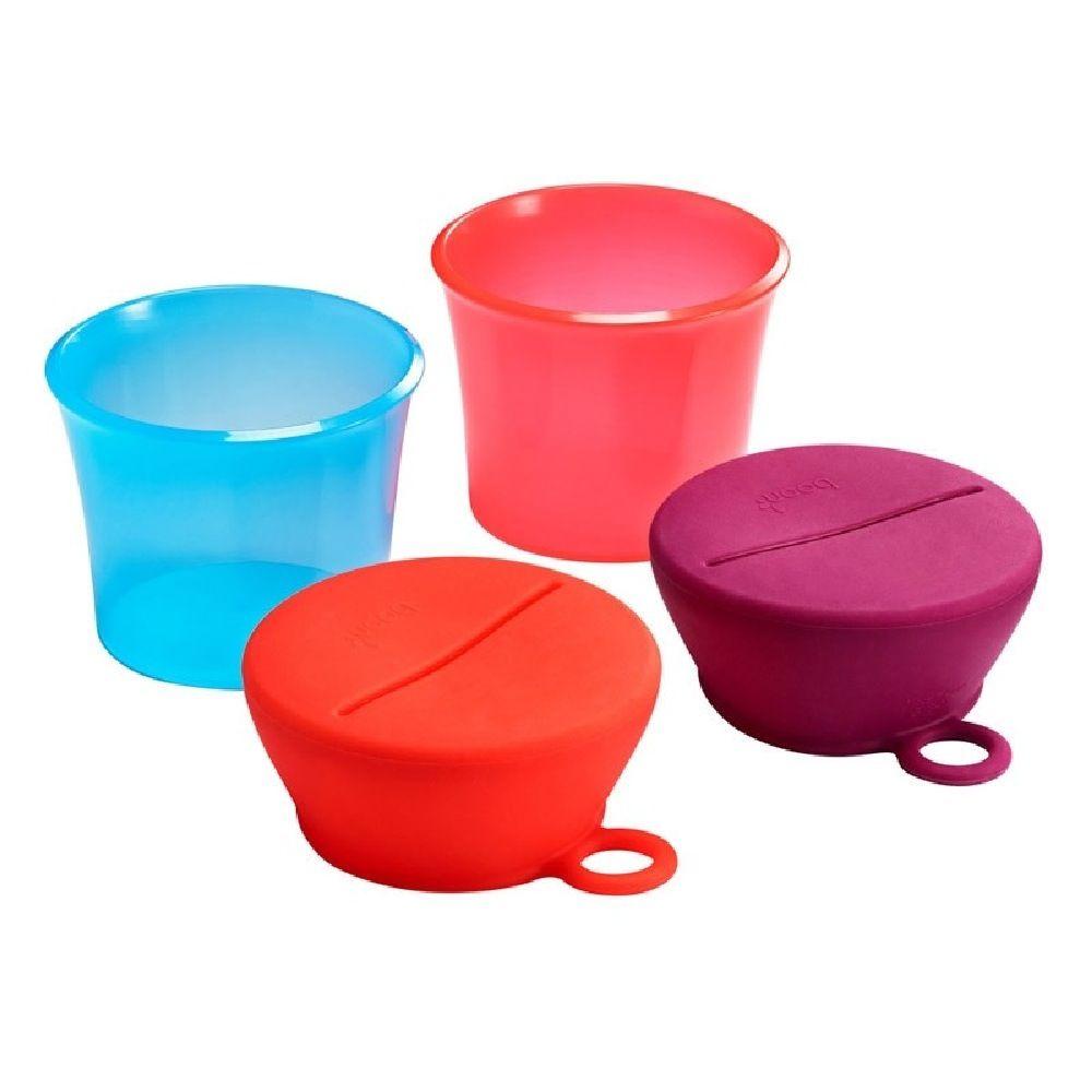 Boon Snug Snack Pink image 3