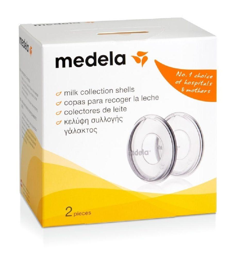 Medela Breastmilk Collection Shells 2 Pack image 1