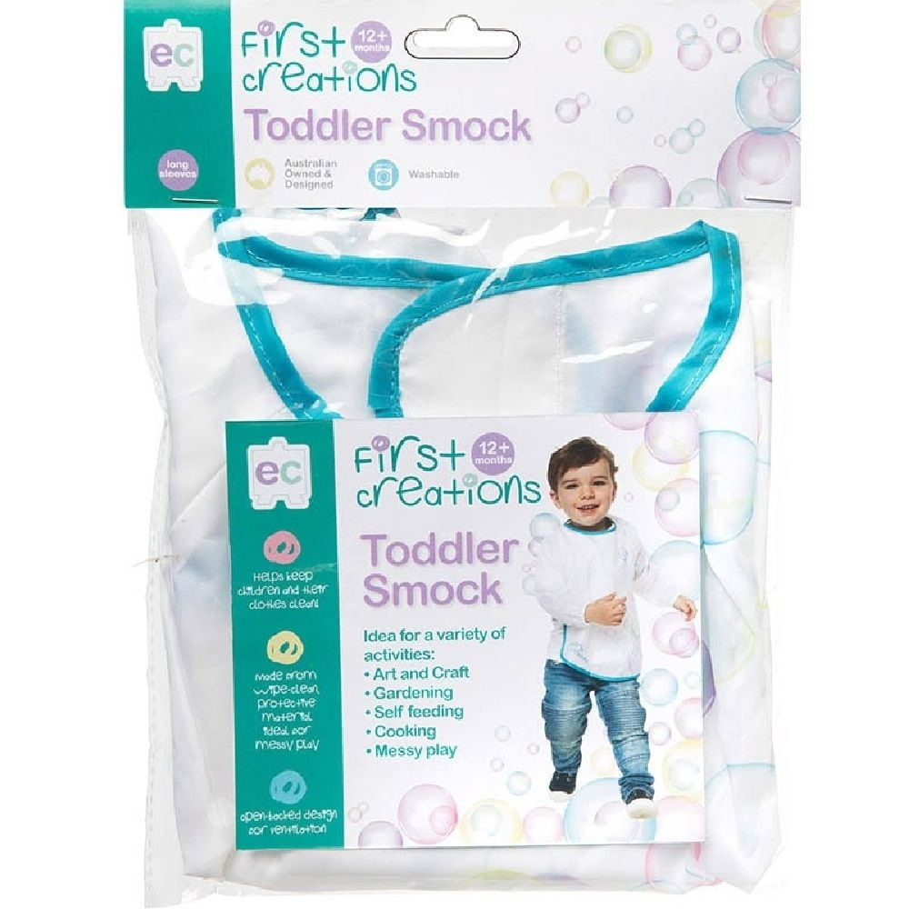 First Creations Toddler Smock Long Sleeve image 1