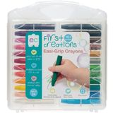 First Creations Easi-Grip Crayons Set Of 24 image 0