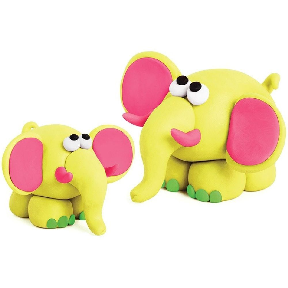 First Creations Easi-Soft Fluoro Dough Set Of 4 image 1