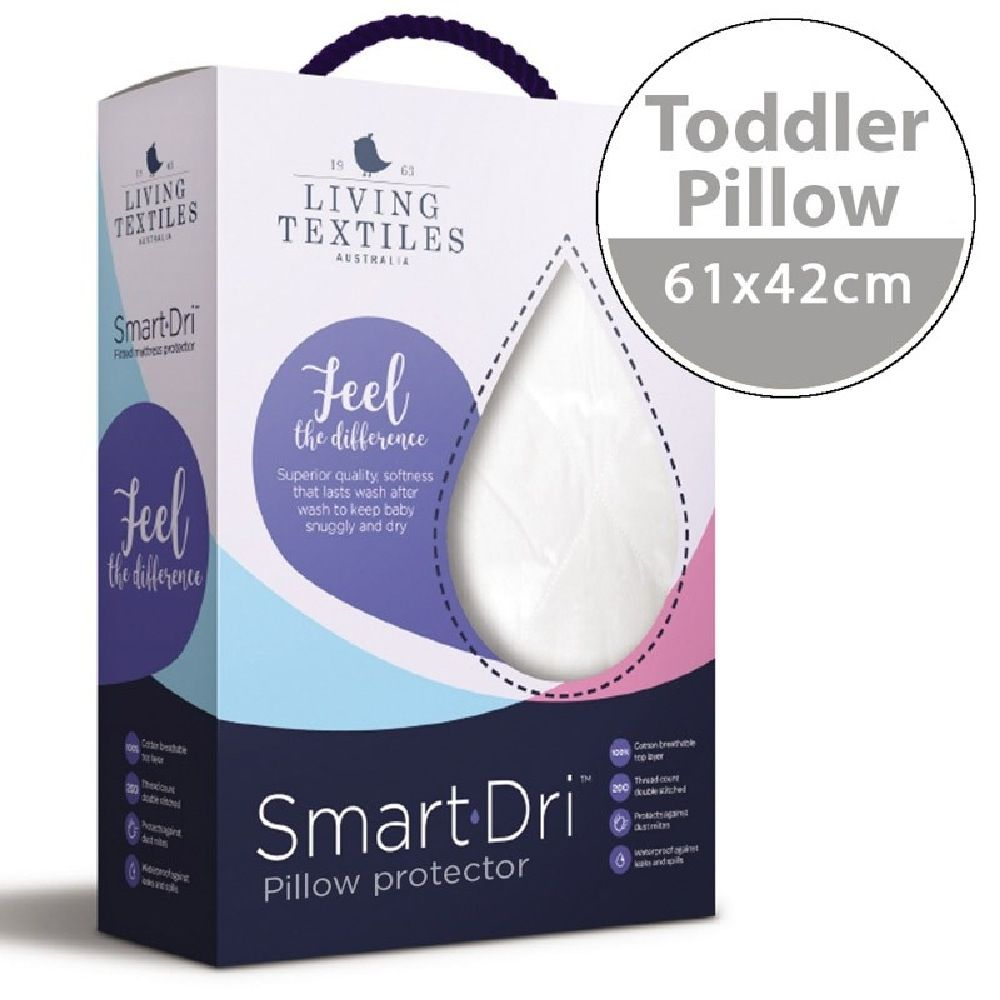 Smart-Dri Waterproof Pillow Protector White