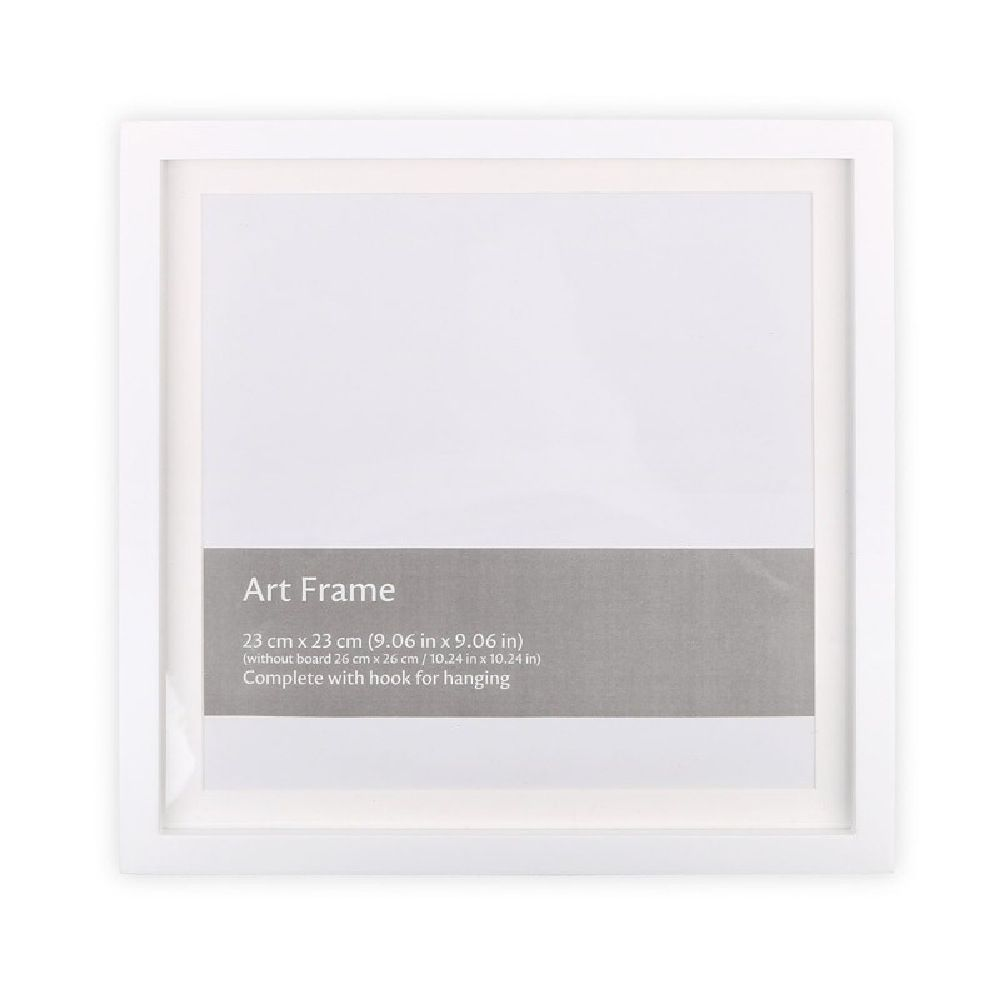The Peanut Shell Wall Frame (Frame Only) White image 0