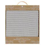 Living Textiles Organic Cell Blanket Bassinet/Cradle Grey image 3