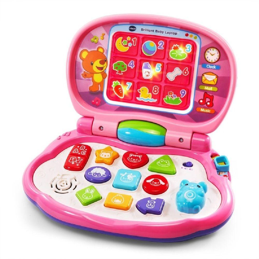 Vtech Baby's Laptop Pink image 0