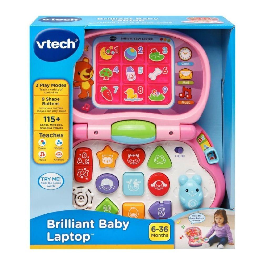 Vtech Baby's Laptop Pink image 6