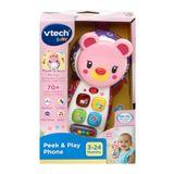 Vtech Baby Peek & Play Phone Pink image 3