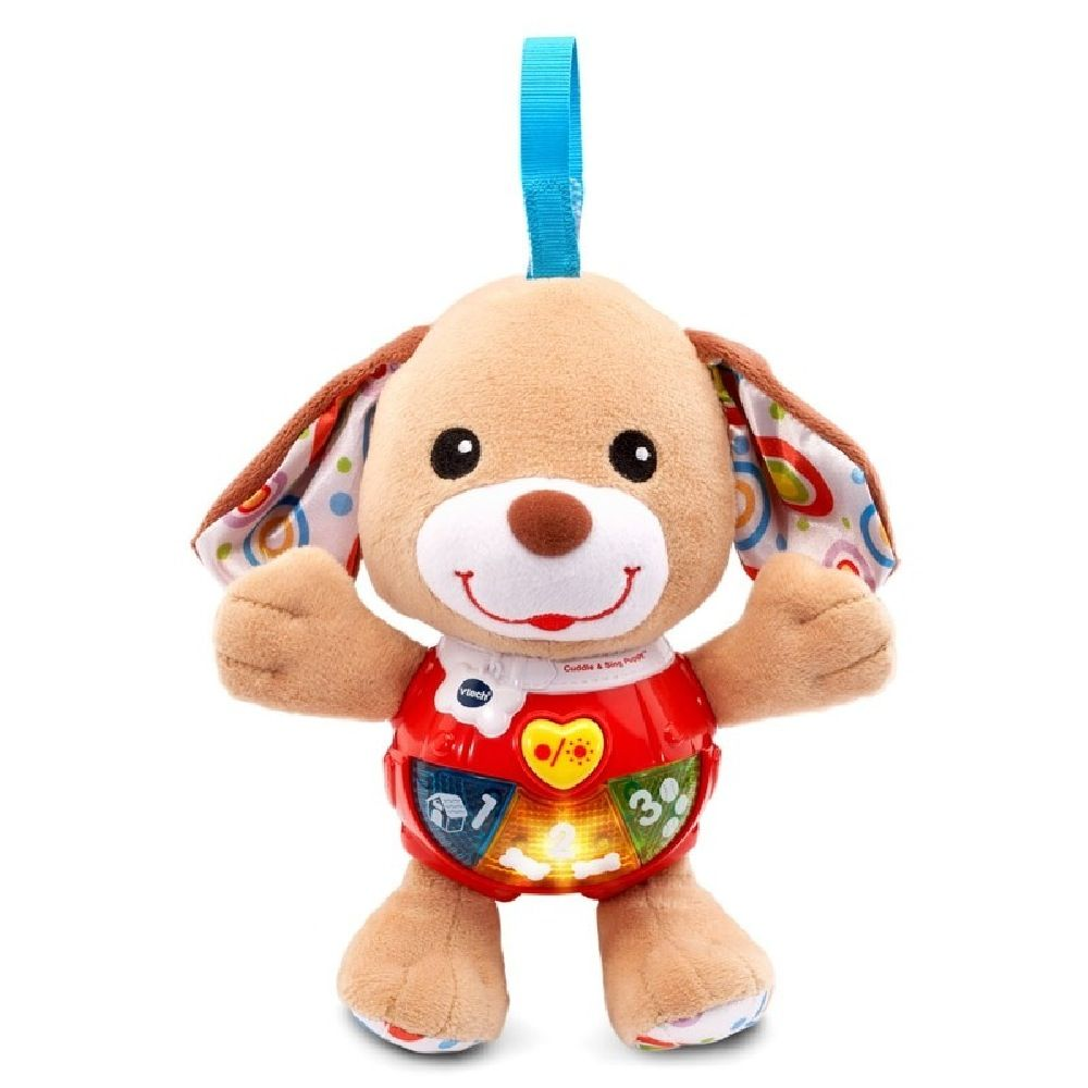 Vtech Baby Little Singing Puppy Brown image 0