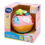 Vtech Baby Crawl & Learn Bright Lights Ball Pink image 1