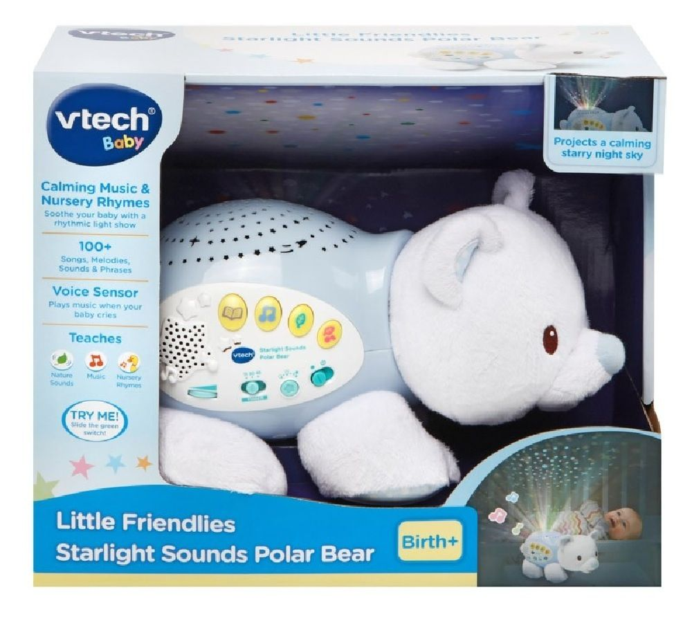 Vtech Baby Starlight Sounds Polar Bear image 1