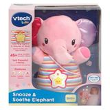 Vtech Baby Snooze & Soothe Elephant Pink image 1