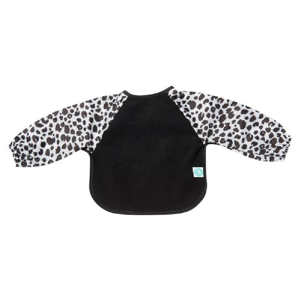 All4Ella Long Sleeve Bib Leopard Black image 1