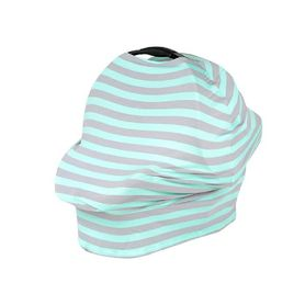 Kiss Kiss Hug Hug Cover Me Blue Stripe