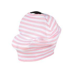 Kiss Kiss Hug Hug Cover Me Pink Stripe