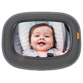 Brica Baby In Sight Soft-Touch Auto Mirror - Grey